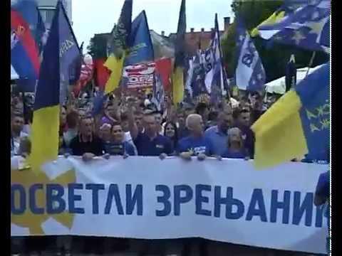 Митинзи све до пада Вучићевог режима (видео)