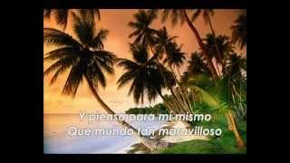 Somewhere Over The Rainbow - Israel Kamakawiwo Ole - (subtitulada en español)