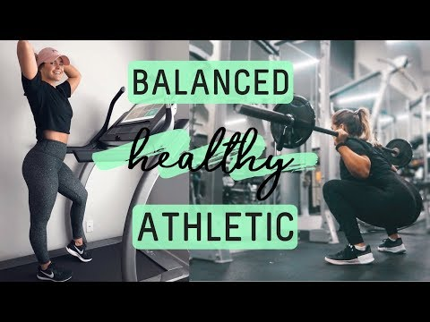 MY UPDATED FITNESS ROUTINE A Week In My Life  Balanced, Healthy, Realistic  NordicTrack Review
