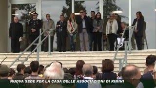 Inaugurazione Casa delle Associazioni G. Bracconi di via Covignano 238 - Rimini - settembre 2015