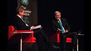Kevin Rudd and Kerry O'Brien at the Wheeler Centre