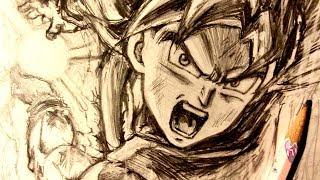 Video ASMR | Pencil Drawing 98 | Ultra Instinct Goku (Request) MP3, 3GP, MP4, WEBM, AVI, FLV September 2018