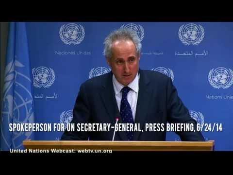 UN demands we 'refocus' on Israel, despite butchery in Iraq & Syria.