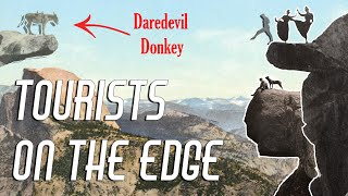 DAREDEVIL YOSEMITE TOURISTS - One of the most epic photo locations in the world by Giant Rock