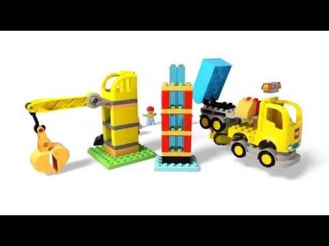 Конструктор Большая стройплощадка - LEGO DUPLO - фото № 4