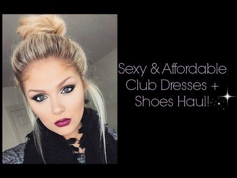 SEXY & AFFORDABLE Club Dresses Haul | AMI Clubwear