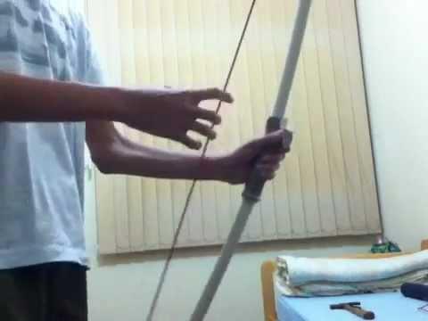 como fazer meu novo arco e flecha de pvc e muitas novidades!