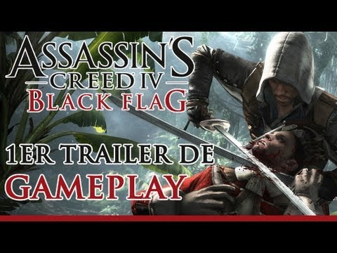 Black flags - Plus de contenus exclusifs sur http://www.assassinscreed.com Assassin's Creed IV Black Flag vous embarque dans l'aventure unique d'Edward Kenway, un pirate f...