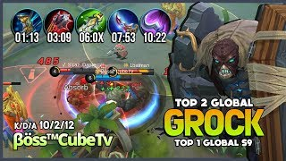 Video Tank Items? No Needed! 1848 Match Grock with 96.8% WR is Real! βöss™CubeTv Top 1 Global S9 ~ MLBB MP3, 3GP, MP4, WEBM, AVI, FLV November 2018