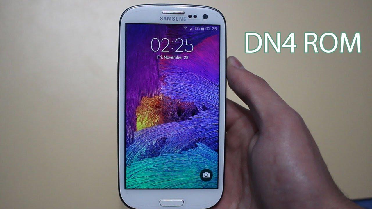Descargar DN4 ROM for Samsung Galaxy S3 (Galaxy Note 4 Features & Apps) para Celular  #Android