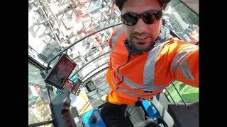 Pontain Tower Crane Woking Town Center Redevelopment 2018