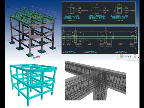 Two storey reinforced concrete design per NSCP 2015 STAAD Part 5 of 8