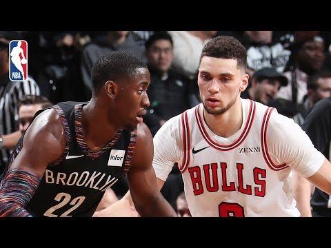 Video: Bulls vs Nets   Full Game Recap: Caris LeVert Returns For Brooklyn
