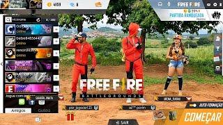 FREE FIRE BATTLEGROUNDS NA VIDA REAL 3