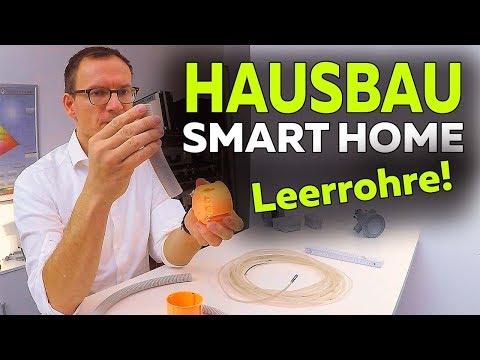 Smartest Home - Neubau möglichst viele Leerrohre   Planung - Folge 18