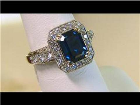 Wedding & Engagement Rings : Wedding Rings: Diamond Alternatives