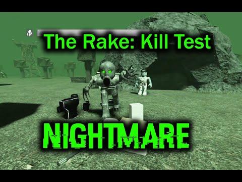 The Rake Kill Test (NIGHTMARE) [ROBLOX]
