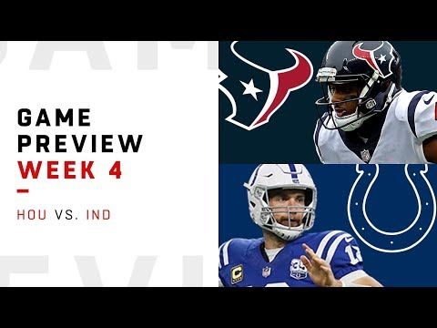 Video: Houston Texans vs. Indianapolis Colts | Week 4 Game Preview | NFL Film Review