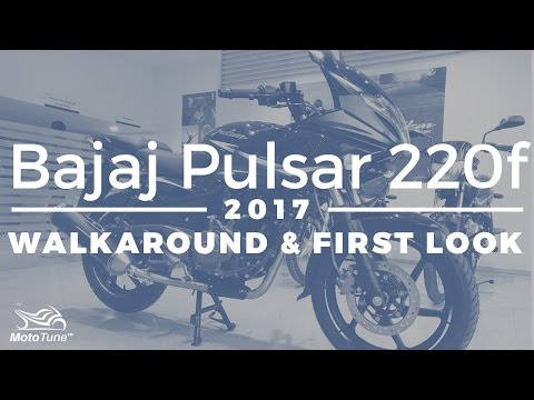 Video 2017 Bajaj Pulsar 220F Walk Around & First look download in MP3, 3GP, MP4, WEBM, AVI, FLV January 2017
