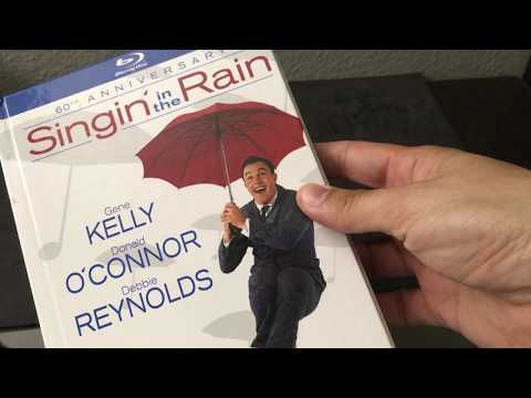 SINGIN' IN THE RAIN 60TH ANNIVERSARY [U.S.] DIGIBOOK BLU RAY REVIEW