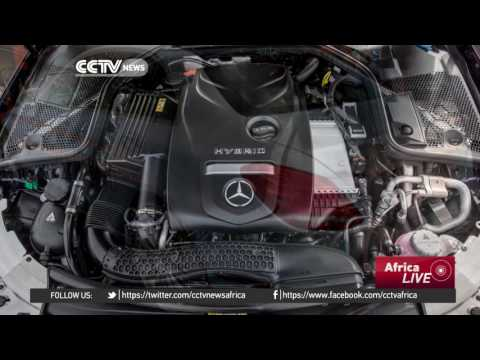 Mercedes unveils first locally made hybrid car in South Africa