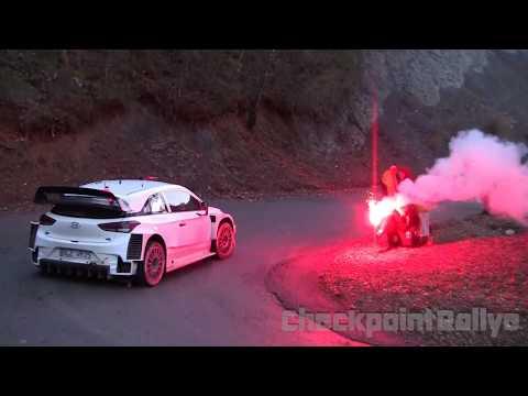 TEST T.NEUVILLE HYUNDAI I20 WRC MONTE CARLO 2018 - CHECKPOINTRALLYE
