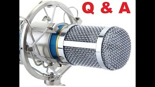 Hey there peeps. I did a previous video reviewing this microphone and you guys have a lot of questions about it and i thought i would answer some of them. I hope this helps.Here is the previous video https://www.youtube.com/watch?v=Asxy-7egZ3kSong on video https://soundcloud.com/now-in-stereo-sound/rising-phoenix-changes-instrumental-loop-free-to-download