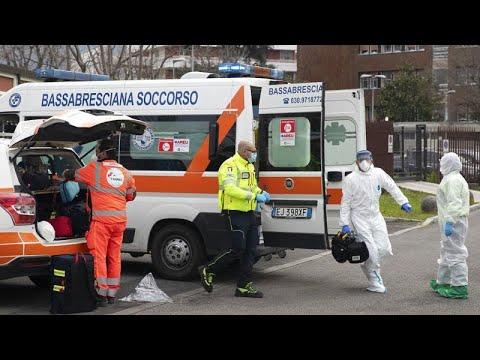 COVID-19: Δραματική αύξηση θυμάτων στην Ιταλία – 969 θάνατοι το τελευταίο 24ωρο…