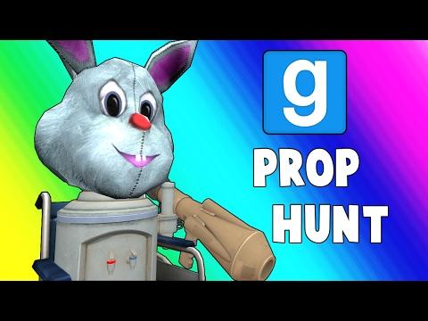 Gmod Prop Hunt Funny Moments - Wheelchair Cartel (Garry's Mod) (видео)