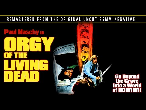 Paul Naschy in the original Eurohorror Classic - Jose Luis Merino's Orgy Of The Dead [Remastered]