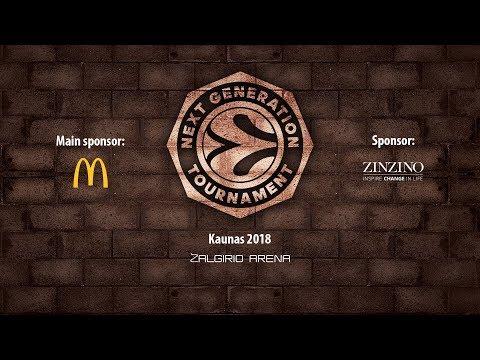 EB ANGT Kaunas: U18 VEF Riga vs. U18 Zalgiris Kaunas - Full Game