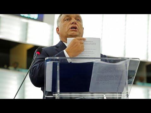 Το Ευρωκοινοβούλιο ψήφισε την έναρξη διαδικασίας κυρώσεων κατά της Ουγγαρίας…