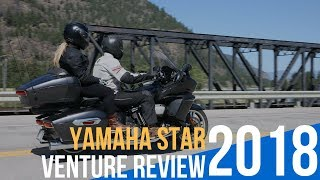 9. 2018 Yamaha Star Venture Review-First Ride