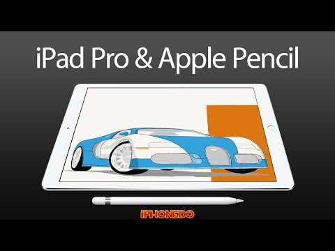 iPad Pro 12.9-inch & Apple Pencil — Unboxing and Review