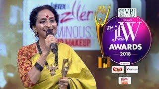 Video Bombay Jayashree at JFW Awards 2018   Happy to receive this award on my Mother's Birthday MP3, 3GP, MP4, WEBM, AVI, FLV Desember 2018