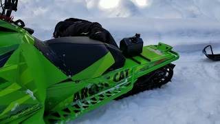 6. Low Rider ARCTIC CAT M8000! Awesome Mod Sled! | Part 5
