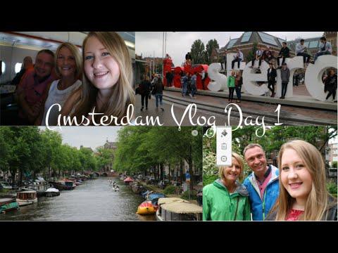 Amsterdam Vlog Day 1 // Visiting Anne Frank House