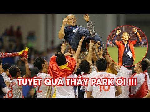Khoảnh khắc thầy Park TRỞ NÊN VĨ ĐẠI trong ngày U22 Việt Nam giành HCV SEA Games 30 @ vcloz.com