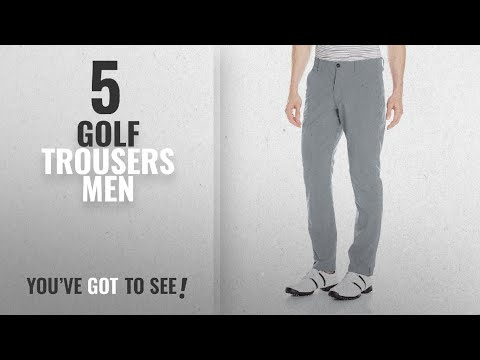 Top 10 Golf Trousers Men [2018]: Under Armour Men's Golf Trousers Match Play Taper