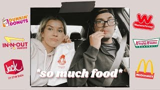 letting the person in front of us decide what we eat   *24 hrs of fast food*   by Meghan Rienks