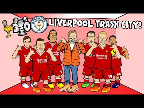 🔴💥3-0! LIVERPOOL TRASH CITY!💥🔵 (Salah Chamberlain And Mane!) (Parody Champions League Highlights)