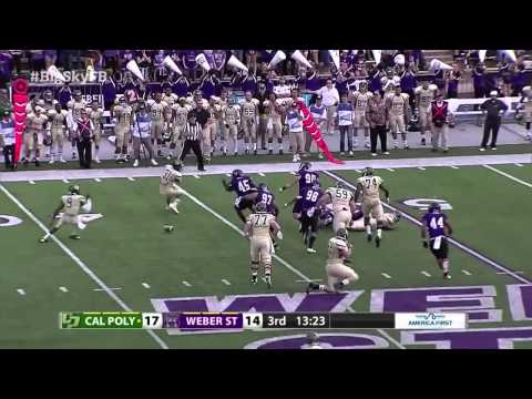 Cal Poly vs. Weber State Football Highlights