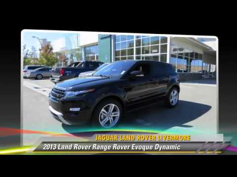 New 2013 Land Rover Range Rover Evoque Dynamic - Livermore