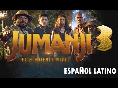 Jumanji 3 trailer español (2019)