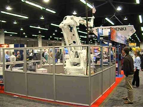 HUGE ABB robot loading arm CNC 3D printing factory automation Exciting new video uploaded today