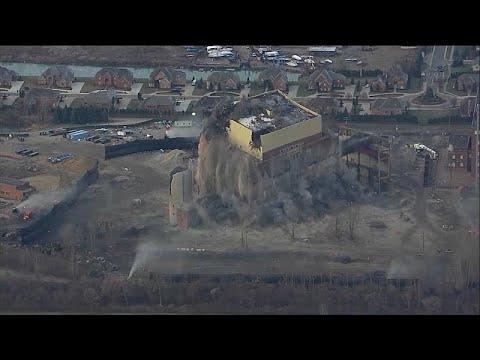 Γκρεμίστηκε σταθμός ηλεκτρικής ενέργειας ηλικίας άνω των 100 ετών…