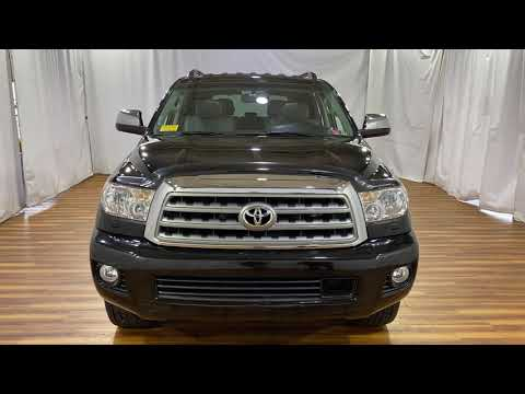 2015 Toyota Sequoia Platinum Leather Back-up Camera Keyless Entry With Navigation & 4WD | #Carvision