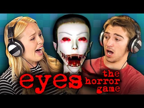 EYES - THE HORROR GAME (REACT: Gaming) (видео)