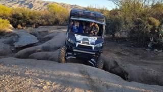 9. 2016 Polaris Ranger crew 900 eps 6 seater,high lifter 4 inch, part 2 fun