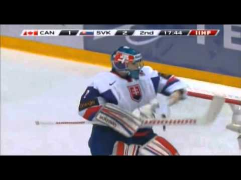 WJC: Strome Scores Canada's First Goal vs Slovakia - YouTube